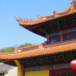 Chinese temple roof — Stock fotografie