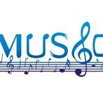 Music Font Design — Stock Photo