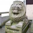 Asiatic Lion statue — Stock fotografie