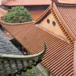 Foto Stock: House roofs