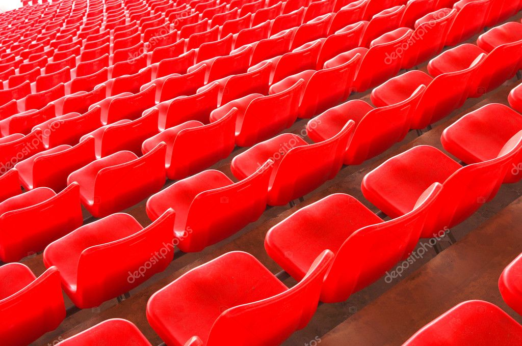 Stadium seating — Stock Photo #9120922