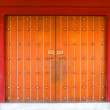 Traditional Chinese red door — ストック写真