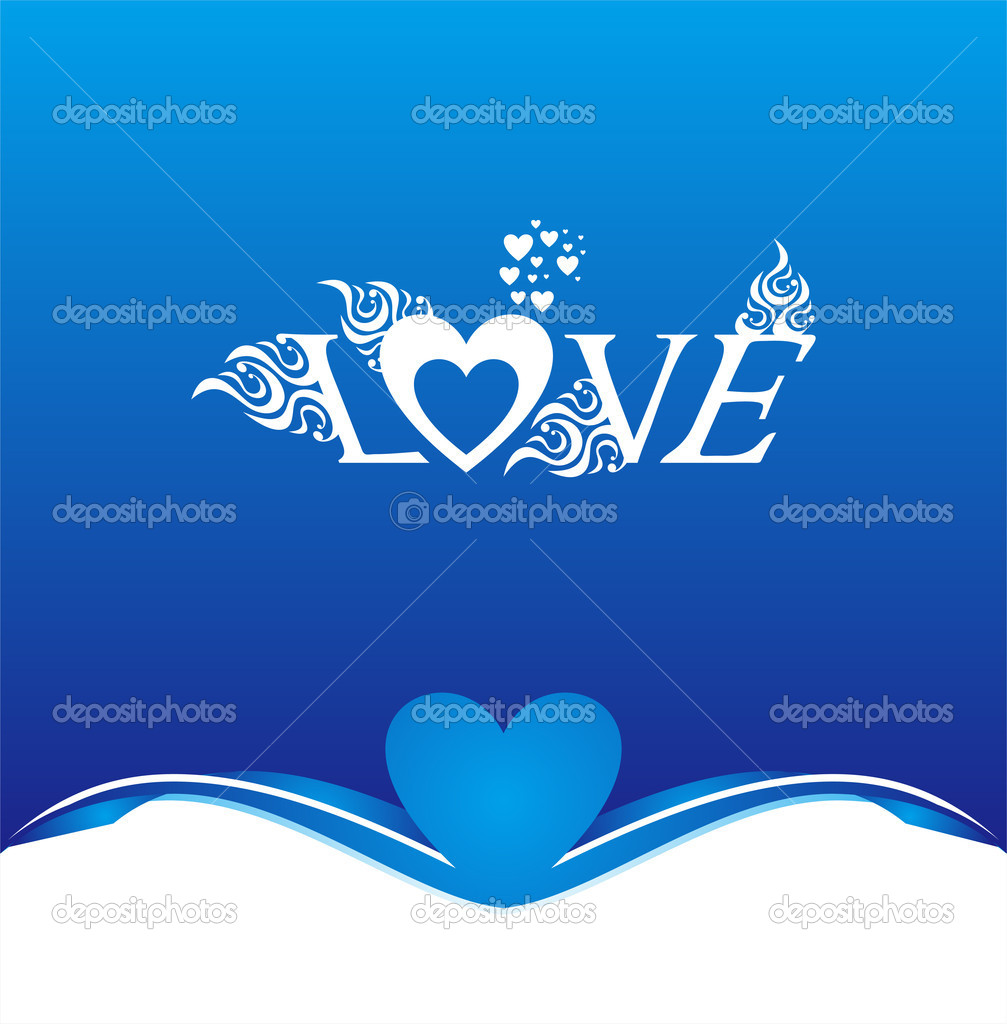 Love background — Stock Vector #9595415