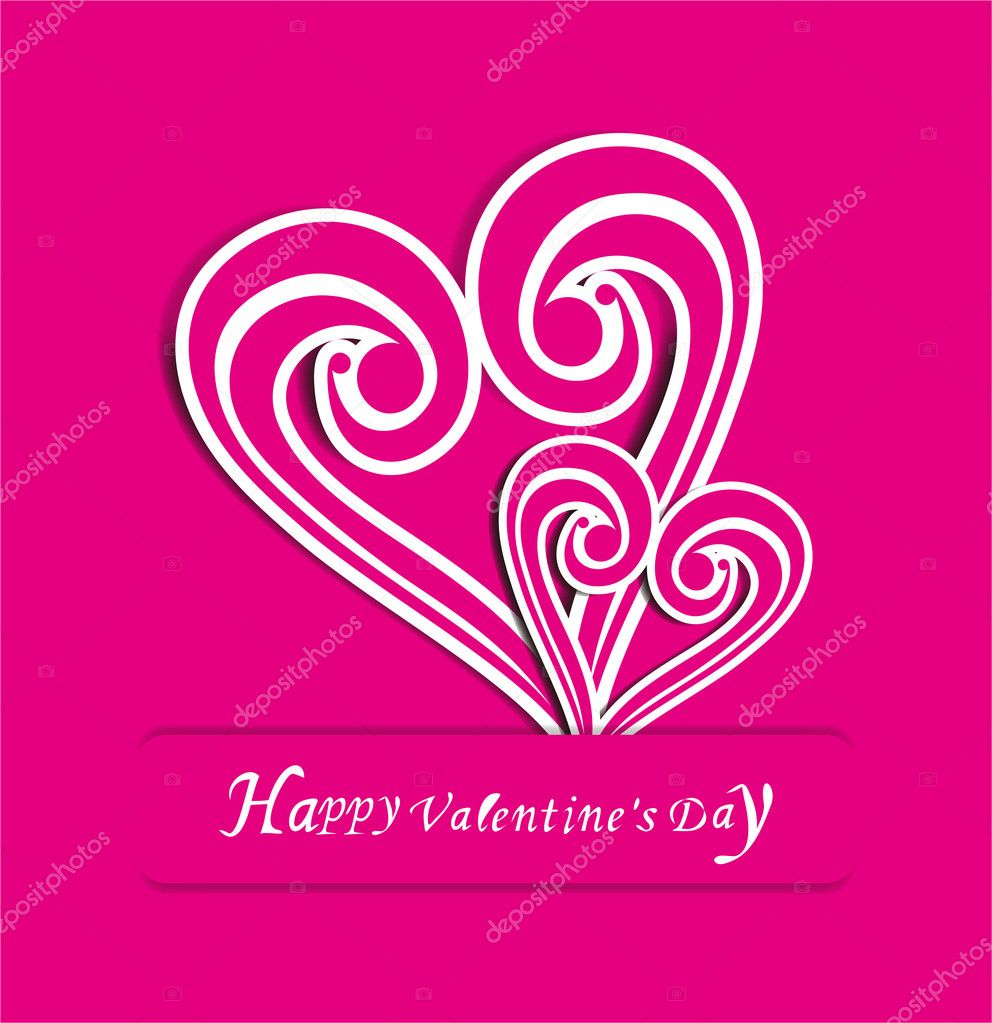 Valentines Day background  Stock Vector #9597697