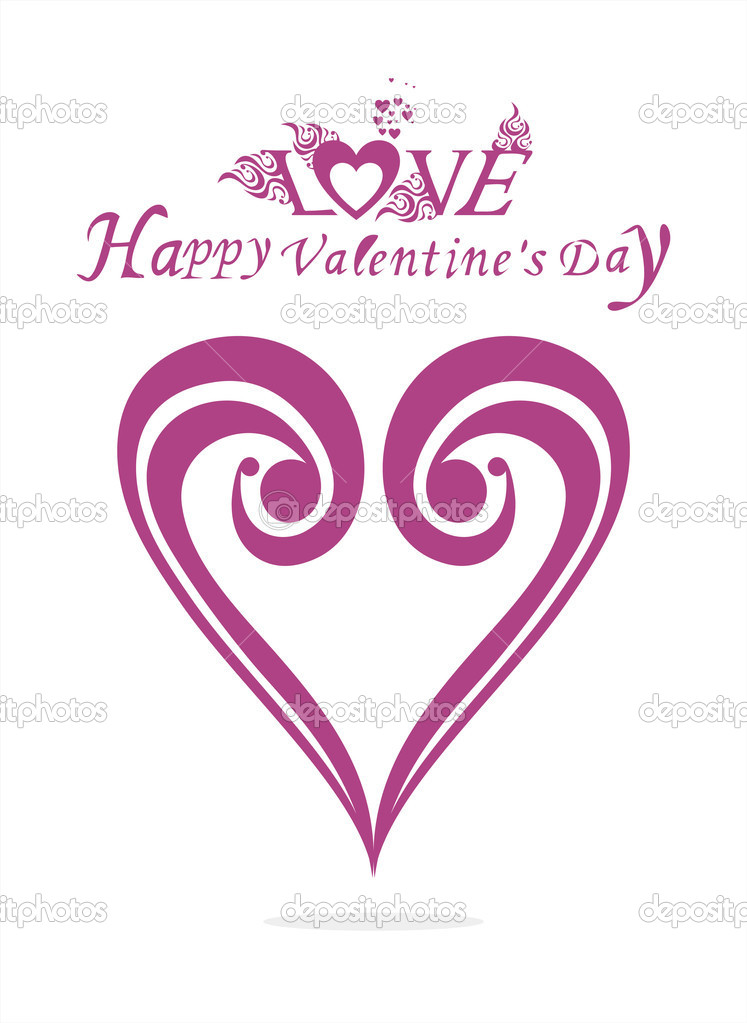 Valentines Day background  Stock Vector #9598243