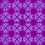 Magic violet seamless pattern — Stock Vector