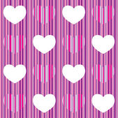 Purple pink heart seamless pattern — Stock Vector