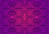Gorgeous violet seamless pattern — Stock Vector