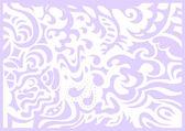 Lavendel zachte romantische achtergrond — Stockvector