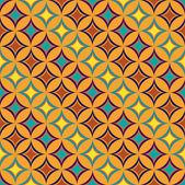 Caramel seamless pattern — Stock Vector
