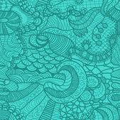 Hand drawn grass seamless pattern — Stock Vector