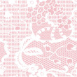 Lace seamless pattern with flowers - Stockfoto