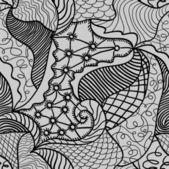 Hand dragna sömlösa mönster — Stockvektor