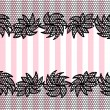 Lace pattern background — Stok Vektör