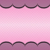 Lace pattern background — Stock Vector