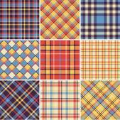 Plaid pattern — Stock Vector