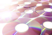 The Compact Disc — Stock Photo