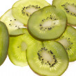 Royalty-Free Stock Photo: Kiwi slices isolated on white