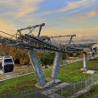 Cableway of Montjuic — Stock Photo