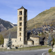 Romanesque church of San Clemente de Taüll — Stock Photo
