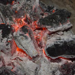 Coals and charcoal fire — Stock Photo #8205648