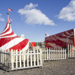The Circus comes to town - Stock Photo