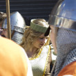 Medieval Fair, nobles and soldiers — Stock Photo #9271280