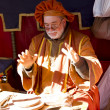 Medieval Fair, soothsayer — Stock Photo