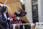 Medieval Fair, nobles — Stock Photo