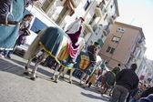 Medieval Fair, the nobles — Stock Photo