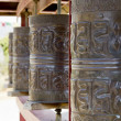 Royalty-Free Stock Photo: Prayer wheels