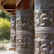Prayer wheels — Stock Photo #9358191