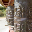 Prayer wheels — Stock Photo #9358200