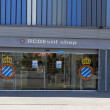 Shop of RCD Espanyol stadium — Stock Photo #9388967