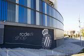 RCD Espanyol stadium, shop — Stock Photo