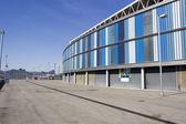 Overview back of RCD Espanyol stadium — Stock Photo