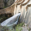 Dam opens its gates — Stock Photo #9396301