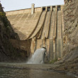 Dam opens its gates — Stock Photo #9396344