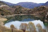 Le lac en automne — Photo