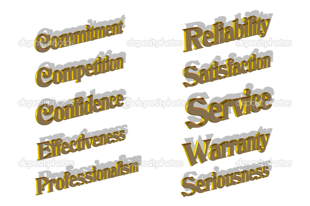 Keywords in the world of business — Stock Photo #9460333
