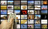 Mediální místnost — Stock fotografie