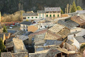 Veduta aerea delle antiche case — Foto Stock
