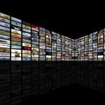 Media Room in perspective — Stock Photo #9767632