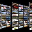 Media Room on perspective — Stock Photo #9951121