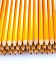 Lead pencils isolated on white — Stockfoto