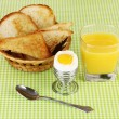 Light breakfast - Stock Photo