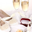 Wedding accessories - Stock Photo