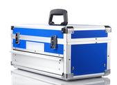 Box für werkzeuge, die isoliert auf weiss — Stockfoto