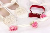 Accessoires de mariage — Photo
