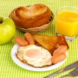 Classical breakfast — Foto Stock #10154797